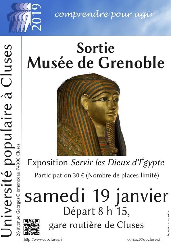 Sortie au Musée de Grenoble