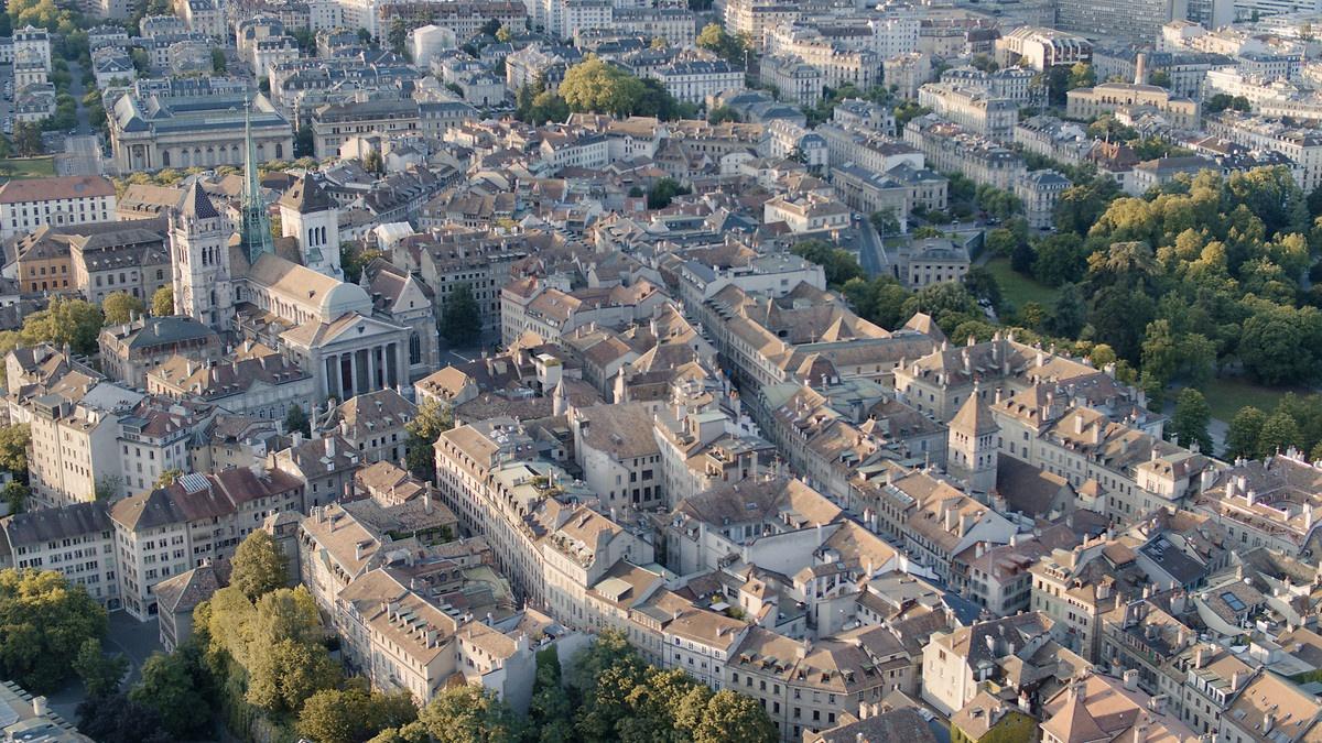 Vieille ville de Genève