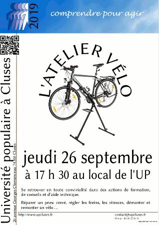 Atelier vélo du 26 septembre 2019