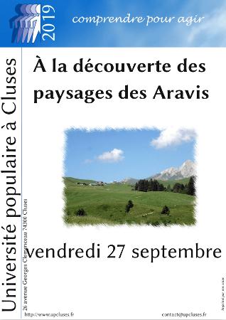 À la découverte des paysages des Aravis