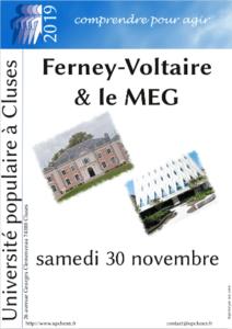 Sortie Ferney & MEG